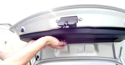 Инструкция как снять обшивку двери багажника