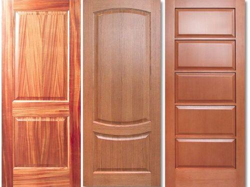 Двери из цельного деревянного полотна