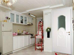 Дверь в кухне
