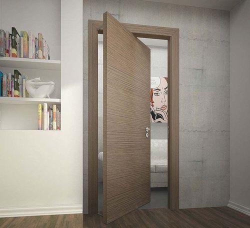 Поворотные межкомнатные двери в современном интерьере