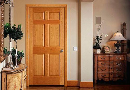 Вес межкомнатной двери из полотен различных типов