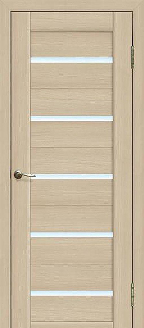Дверь с поперечными вставками