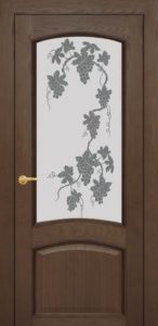 Красивое оформление двери