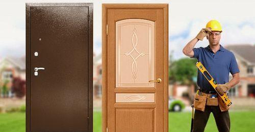 Установка дверей - залог их добротости