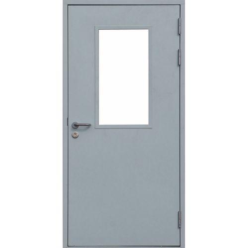 Модель двери со стеклом