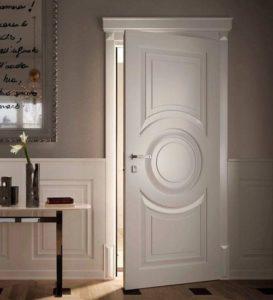Дверь Рондо в интерьере