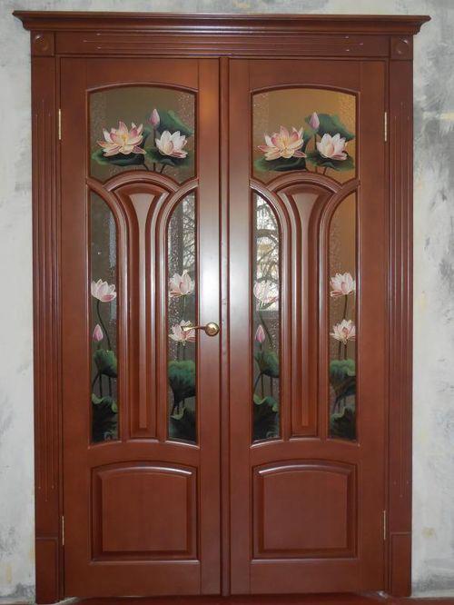 Межкомнатные двери Лотос в современном интерьере