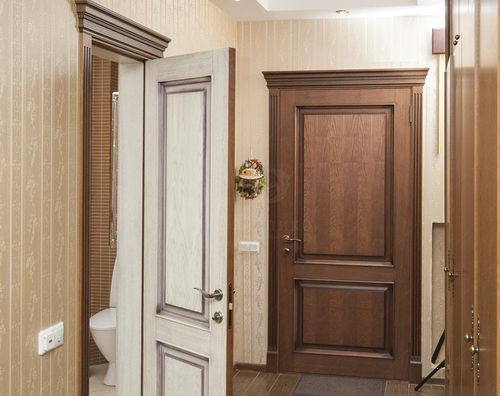 дверь двух цветов