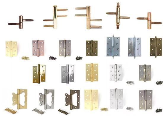 Характеристики и классификация петель для дверей